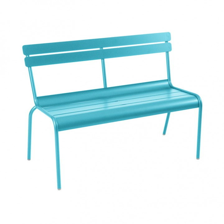 Luxembourg-Banc-2-3pl-Bleu-Turquoise